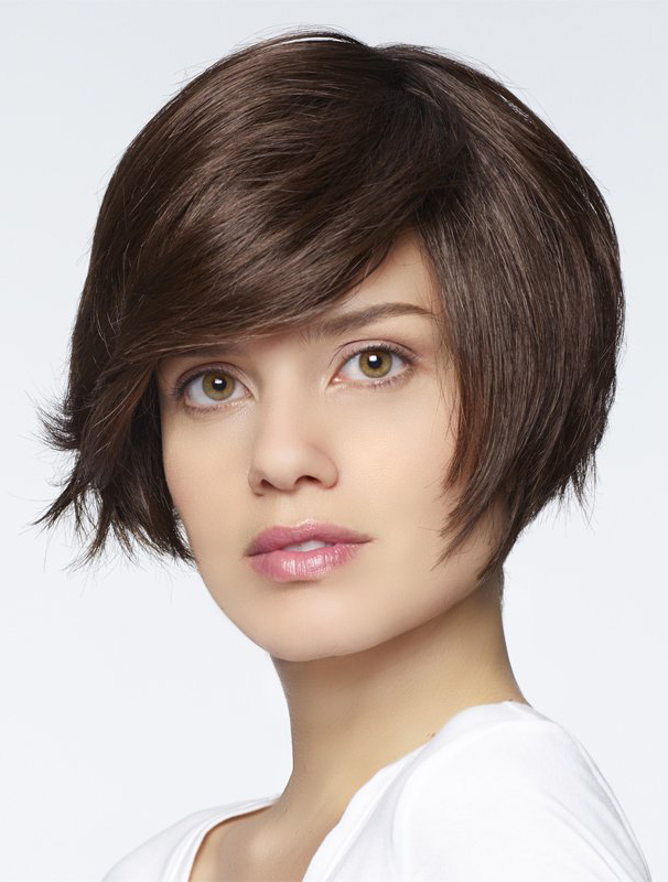 "Auburn 6"" Bobs Synthetic Wigs"