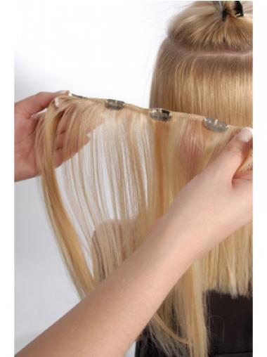 Blonde Remy Human Hair Incredible Clip in Hair Extensions