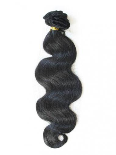 Black Wavy Ideal Tape in Hair Extensions