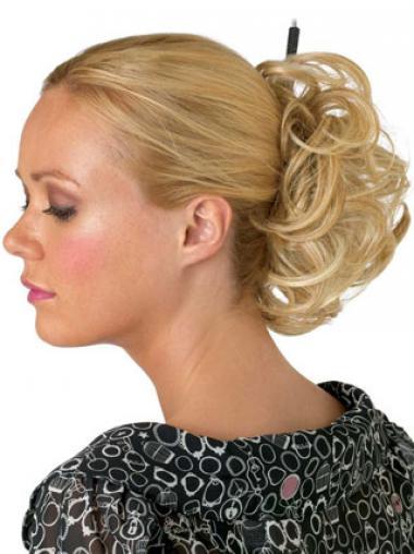 Blonde Designed Wraps / Buns Hairpieces