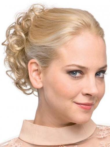 Blonde Sleek Wraps / Buns Hairpieces
