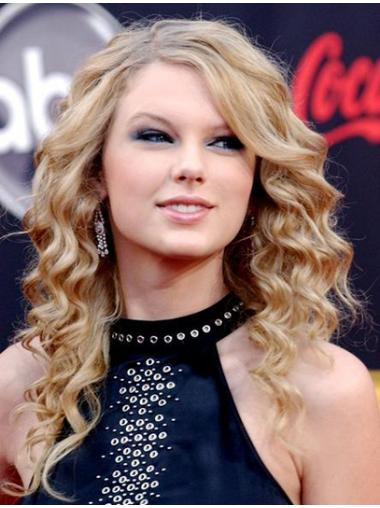 Blonde Without Bangs Curly Fabulous Taylor Swift wigs