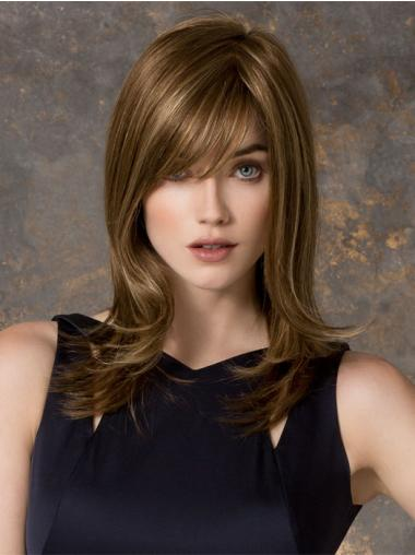 Straight Blonde Layered Best Long Wigs