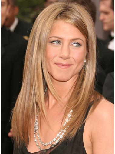 Straight Blonde Layered Best Jennifer Aniston wigs