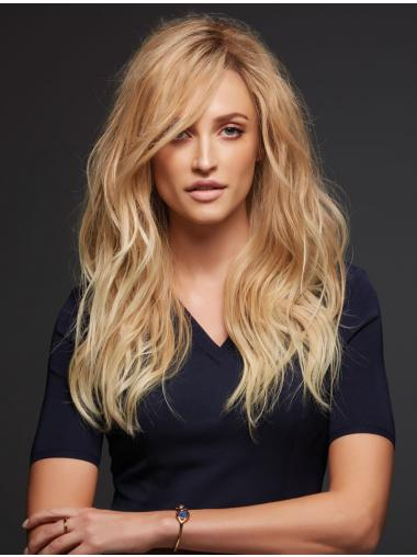 Blonde Layered Wavy Popular Lace Wigs