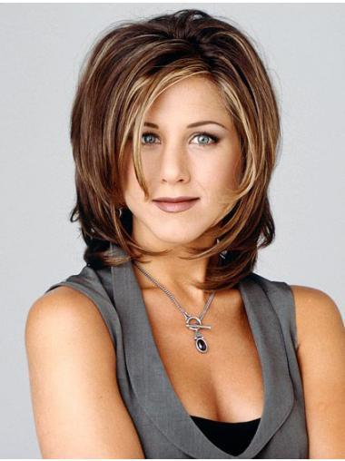 Brown Layered Wavy Incredible Jennifer Aniston wigs