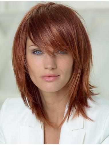 Auburn Layered Straight Ideal Long Wigs
