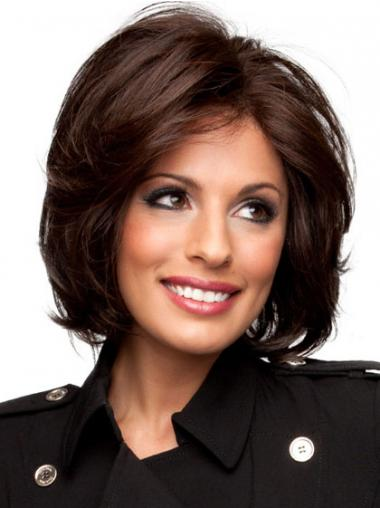 Auburn Layered Wavy Perfect Full Lace Wigs