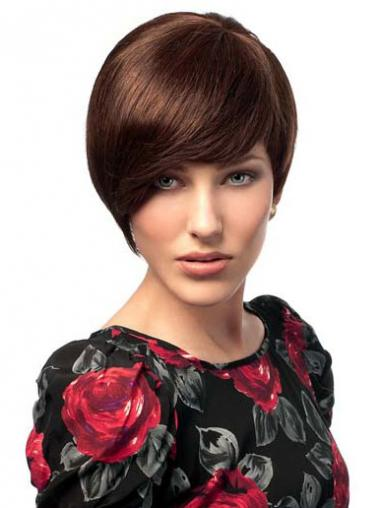 Bobs Auburn Straight Best Human Hair Wigs