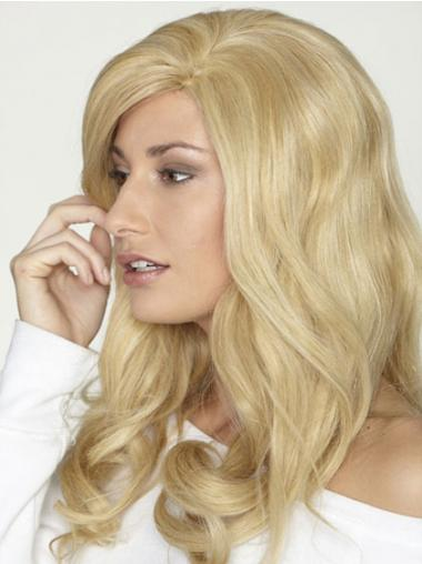 Blonde Lace Front Curly Stylish Long Wigs