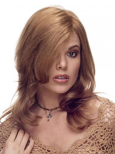 Brown Layered Wavy Great Long Wigs
