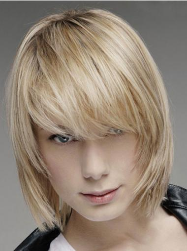 Blonde Straight Popular Men Wigs