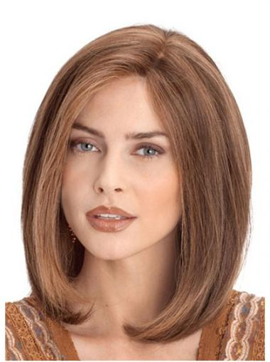 Auburn Lace Front Straight Ideal Medium Wigs