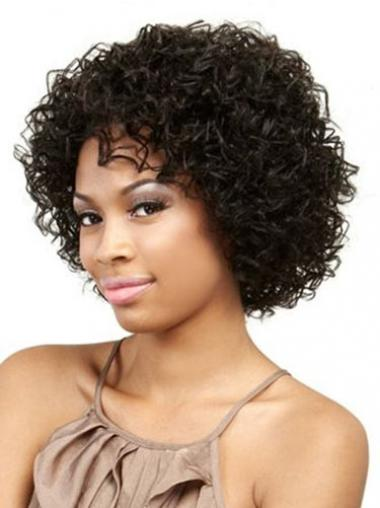 Black Afro Curly Popular African American Wigs