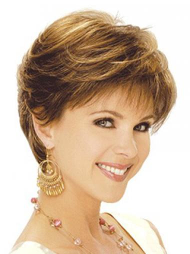 Brown Layered Wavy Incredible Classic Wigs