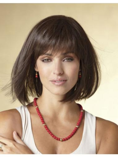 Bobs Black Straight Fashionable Short Wigs