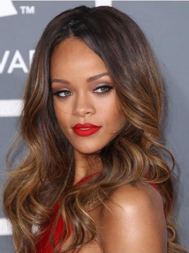 Brown Lace Front Wavy Fabulous Rihanna wigs