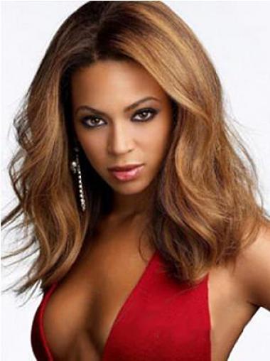 Auburn Lace Front Wavy No-fuss Beyonce wigs