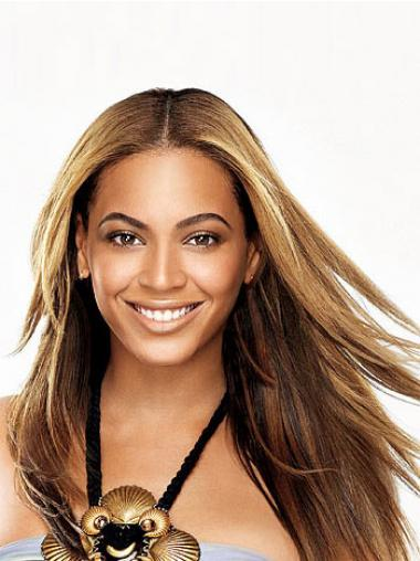 Straight Brown Without Bangs Exquisite Beyonce wigs
