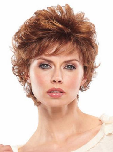Auburn Layered Wavy Perfect Classic Wigs