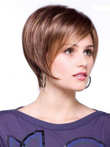 Synthetic Bobs Straight Amazing Short Wigs