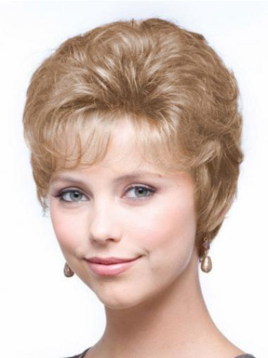 Blonde Classic Wavy Ideal Classic Wigs
